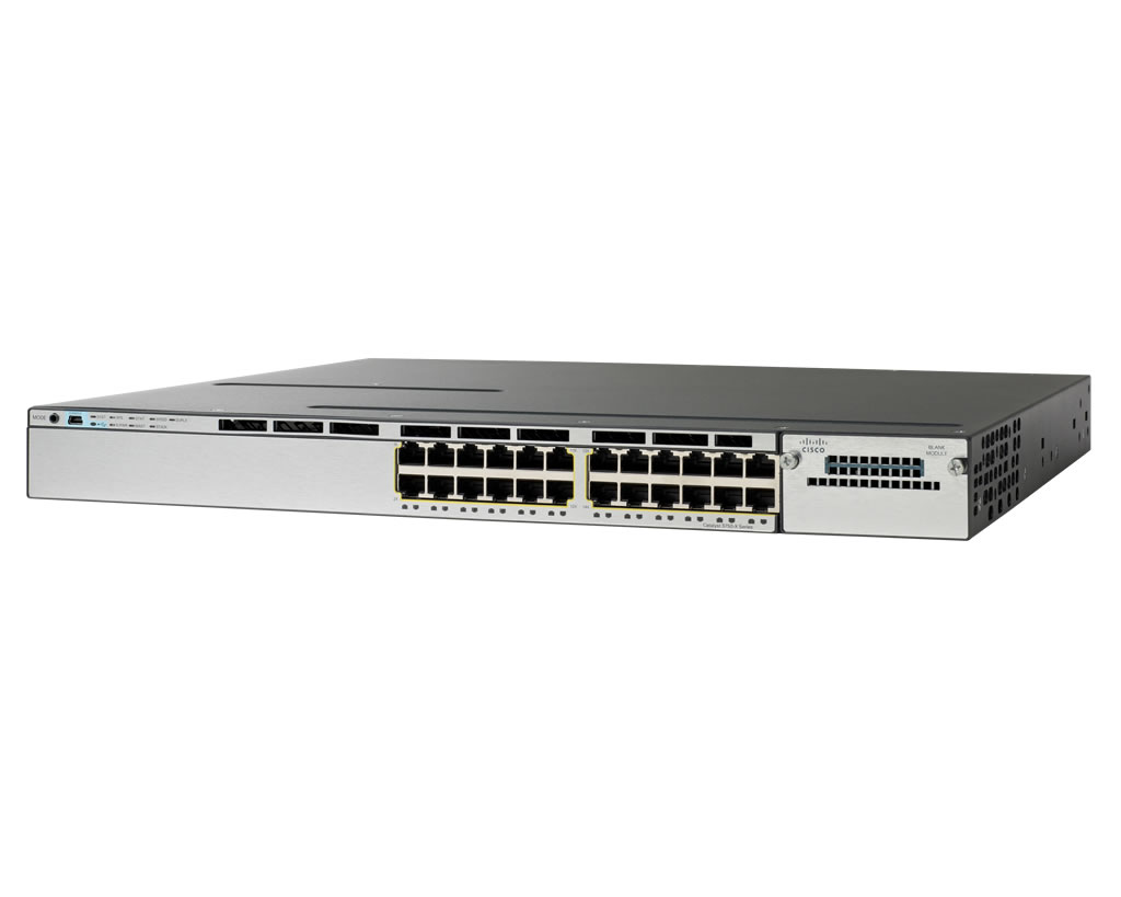 Cisco Catalyst WS-C3560X-24T-S - 24 Port IP Base Switch
