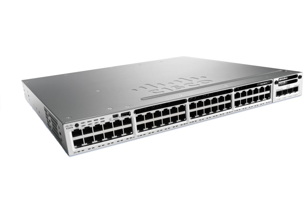 Cisco Catalyst WS-C3850-48T-L LAN Base Stackable Switch